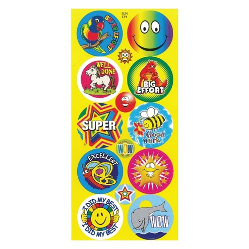 Junior Merit Stickers Pack Of 210 Stickers Amp Stamps