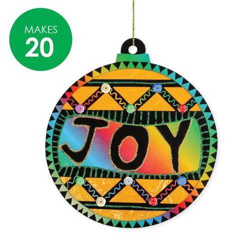 Scratch Board Baubles Group Pack