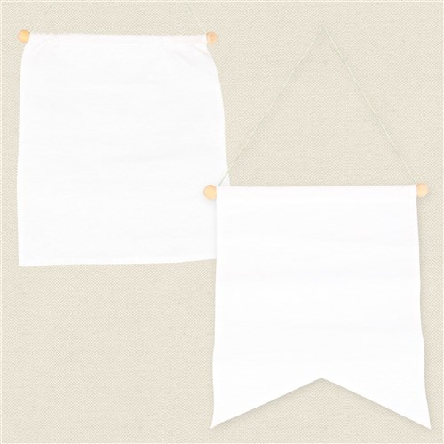 Small Canvas Banners - Pack of 10