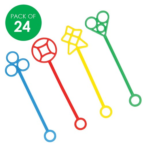 Bubble Wands - Pack of 24