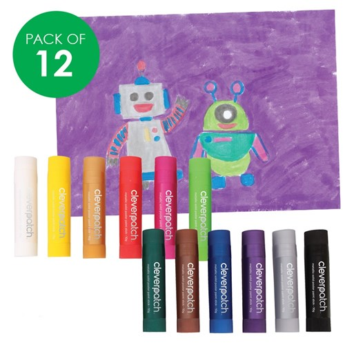 CleverPatch Poster Paint Sticks - Metallic - 10g