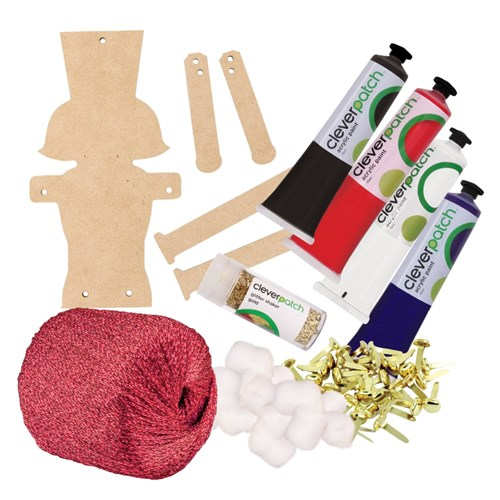 Wooden Nutcrackers Group Pack