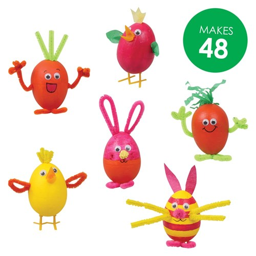Decofoam Egg Characters Group Pack