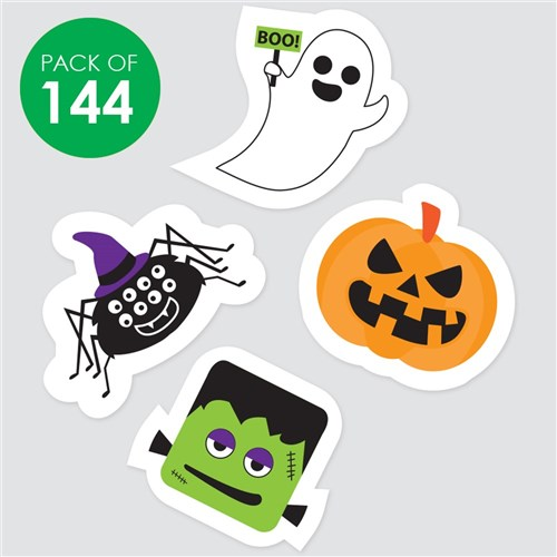 Halloween Stickers - Pack Of 144