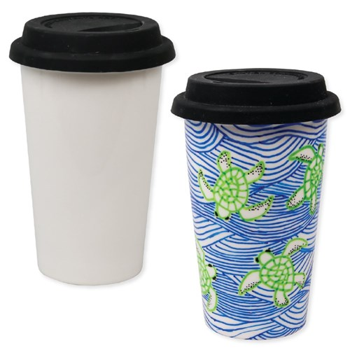 Porcelain Travel Mug - Each