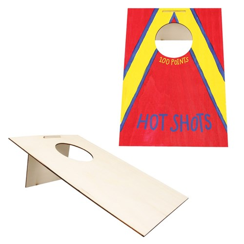 Wooden Cornhole Board - Each