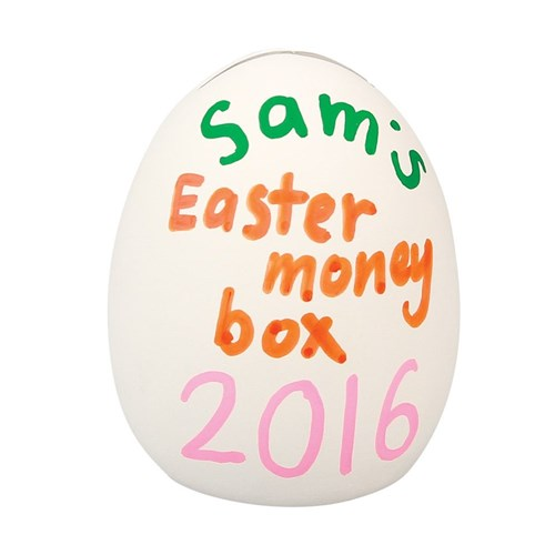 Easter Egg Money Box