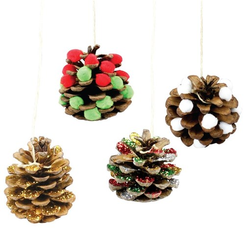 Christmas Pine Cones Christmas Cleverpatch Art