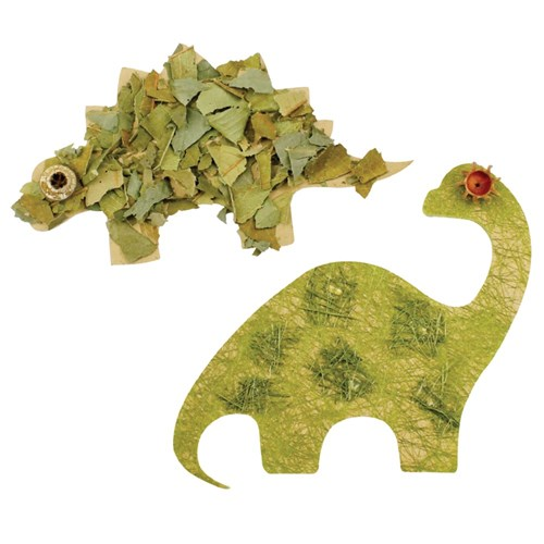 Natural Wooden Dinosaur Shapes