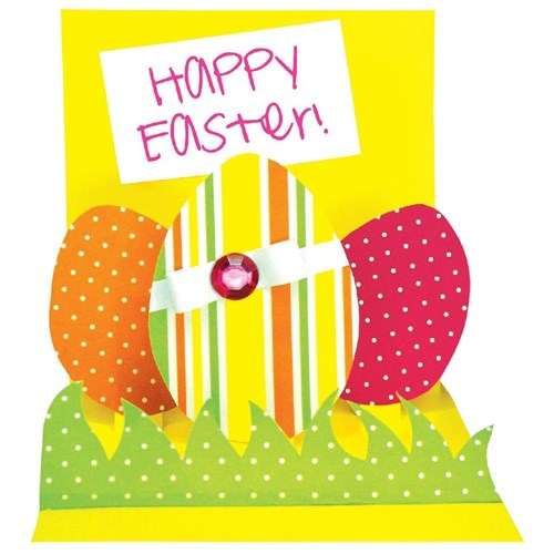 Easter Egg Display Card