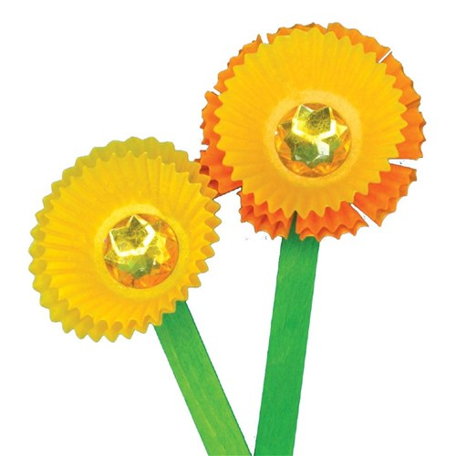 Patty Pan Daffodils Mother S Day Cleverpatch Art Craft Supplies