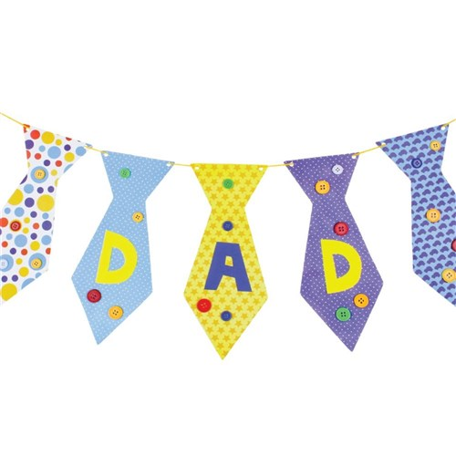 f4d5b9e3909f Tie Bunting Decoration | Father's Day | CleverPatch - Art & Craft ...