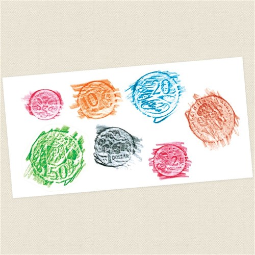 coin craft ideas coin paint amp print cleverpatch amp craft 1336
