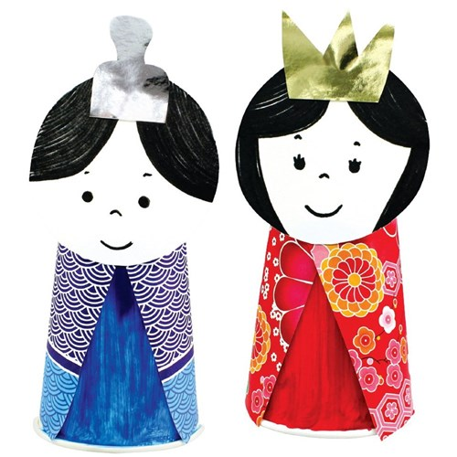 Paper Cup Hinamatsuri Dolls Paper Amp Card Cleverpatch