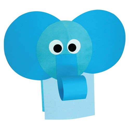 Elephant Paper Bag Puppet