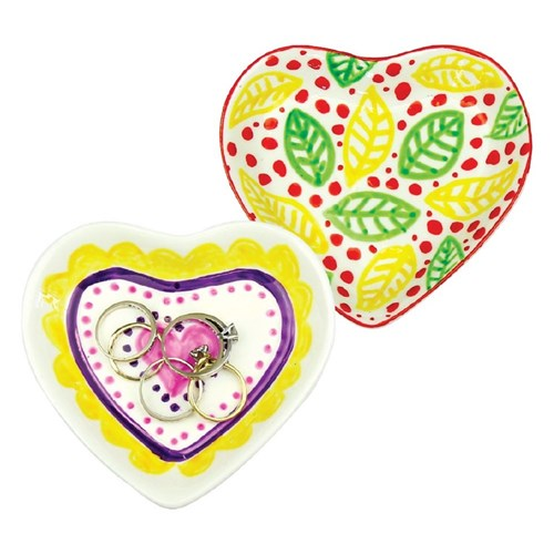Adorable Porcelain Heart Dishes