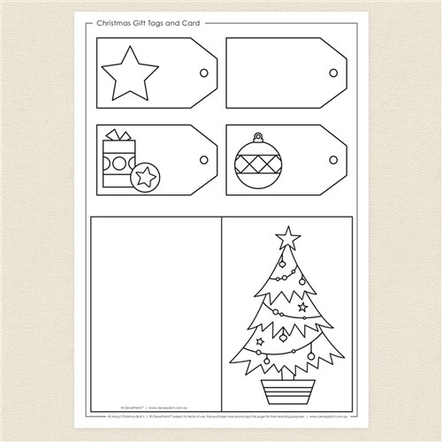 blackline christmas coloring pages - photo#1