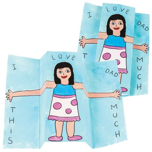 Stretchy Arm Cards