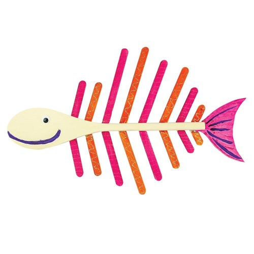 Wooden Spoon Fish