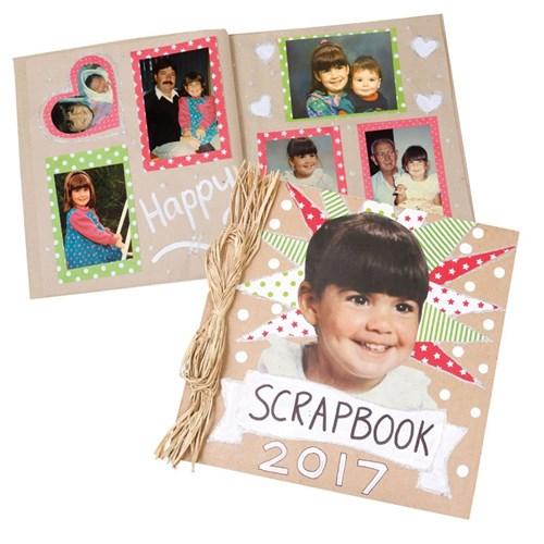 Papier Mache Scrapbook All About Me Cleverpatch Art Craft