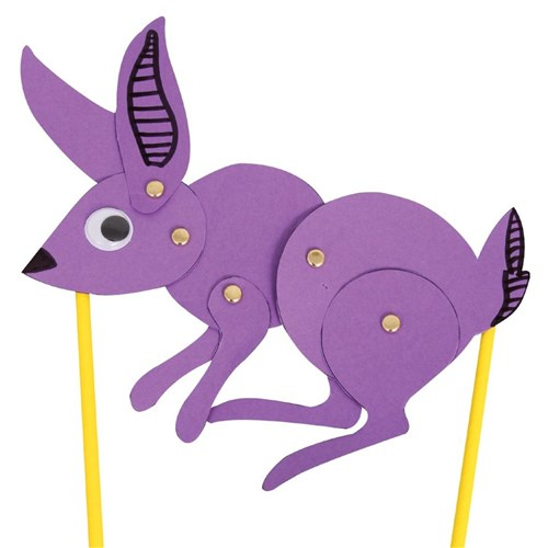 Hopping Bunny | Easter | CleverPatch - Art & Craft Supplies