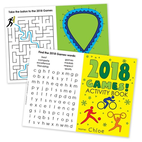 2018 Games Activity Book