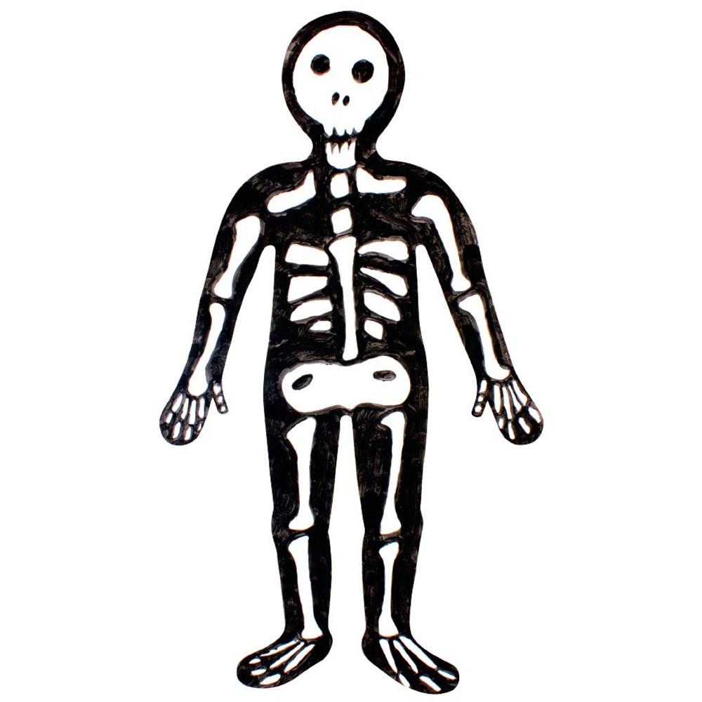 Paper Kids Skeleton Body | Halloween | CleverPatch - Art ...