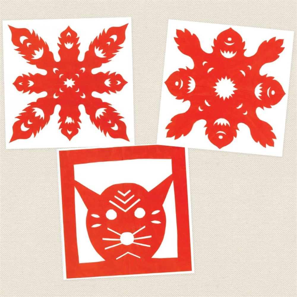 chinese paper cutting  paper  card  cleverpatch  art