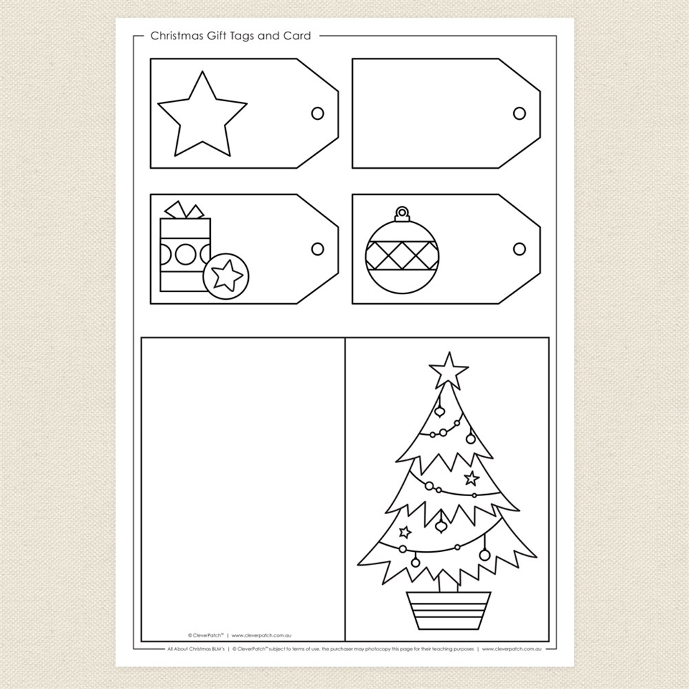 blackline christmas coloring pages - photo#6