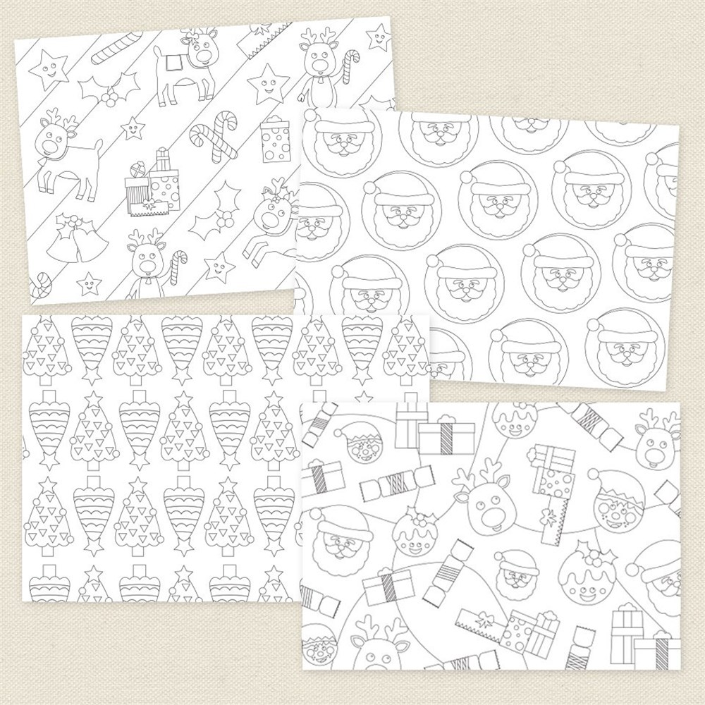 christmas wrapping paper christmas cleverpatch art craft supplies. Black Bedroom Furniture Sets. Home Design Ideas